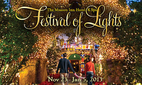 20th Annual Festival Of Lights Riverside Downtown